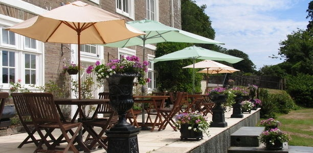 The gorgeous Buckland Tout-Saints Hotel... nestled in Kingsbridge, Devon, this beautiful venue offers complete relaxation and beautiful views.