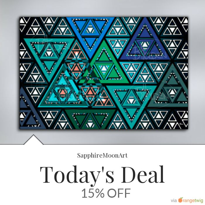 Today Only! 15% OFF this item.  Follow us on Pinterest to be the first to see our exciting Daily Deals. Today's Product: Triangles 2 Abstract Canvas Print Buy now: https://www.etsy.com/listing/265923262?utm_source=Pinterest&utm_medium=Orangetwig_Marketing&utm_campaign=Triangles%202%20Canvas #etsy #etsyseller #etsyshop #etsylove #etsyfinds #etsygifts #musthave #loveit #instacool #shop #shopping #onlineshopping #instashop #instagood #instafollow #photooftheday #picoftheday #love #OTstores…