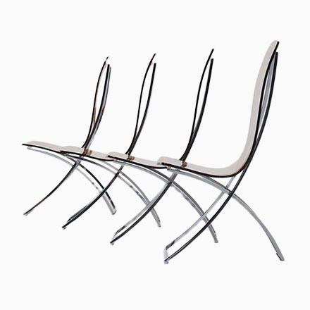 Französische Plexiglas U0026 Chrom Esszimmerstühle, 1970er, 4er Set Jetzt  Bestellen Unter: Https://moebel.ladendirekt.de/kueche Und Esszimmer/stuehle Und Hocker  ...