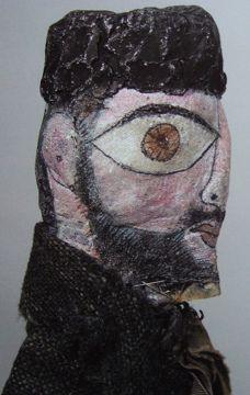 Paul Klee puppet :: self portrait