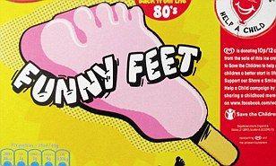 funny feet ice cream