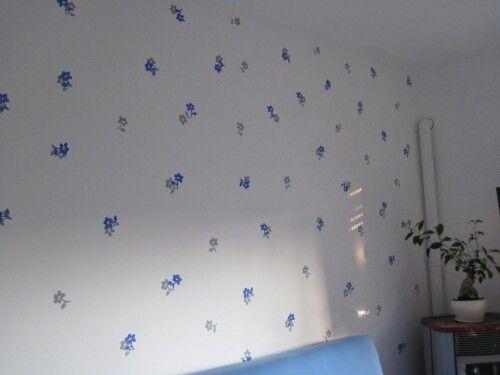 è fiorita la parete della sala!