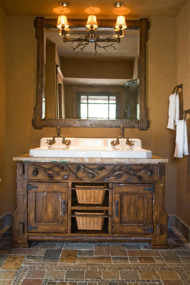 17 best ideas about rustic bathroom vanities on pinterest ba