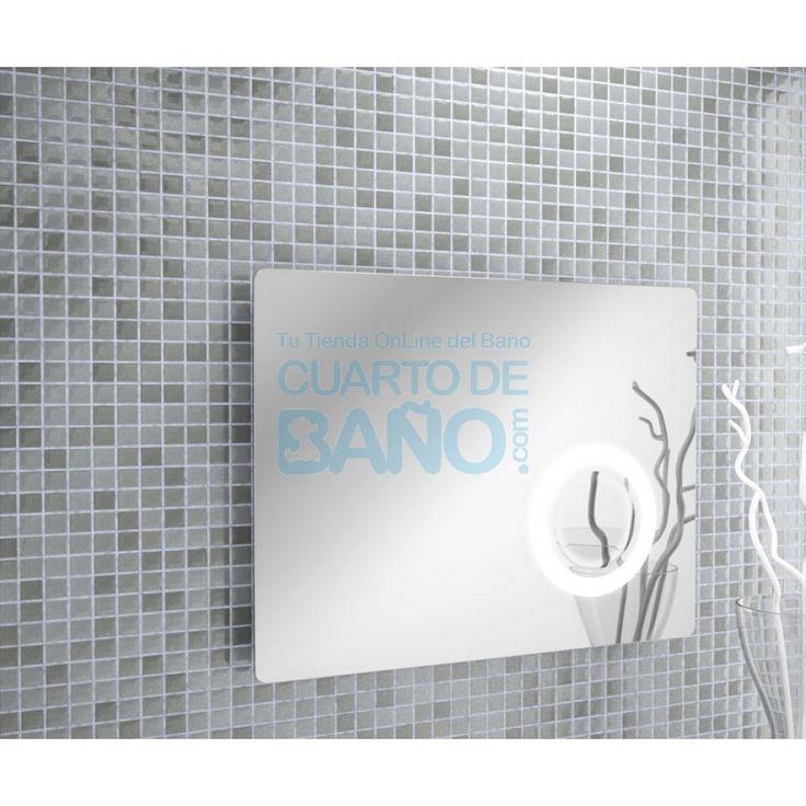 Espejo baño MOSCOW salgar H 800x600 con zona aumento 21221