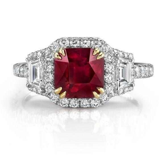 Ruby & Diamond Ring by Omi Prive