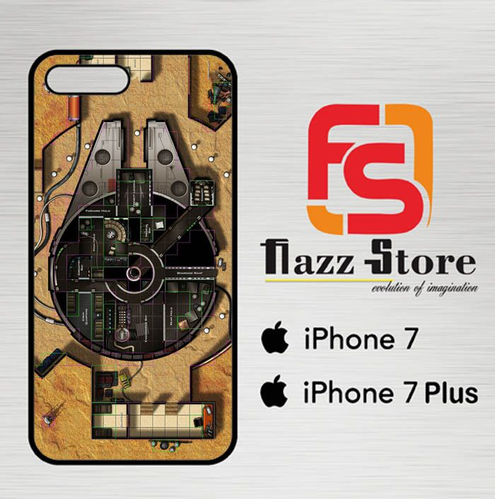 star wars ship map Y0814 iPhone 7 Case