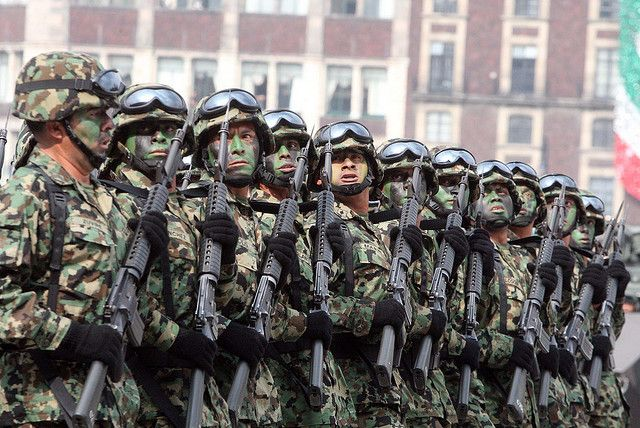 mexican armed forces | Some 1,680 Mexican army special forces soldiers have deserted in the ...