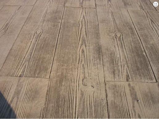 Hormigón impreso madera http://hormigonimpresoveran.es/nuestros-trabajos-hormigon-impreso-valencia-alicante/