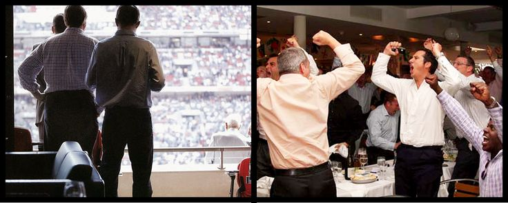 Which one would you rather be at? Make your corporate sports event one to remember with www.bookaguest.co.uk #bookaguest #events