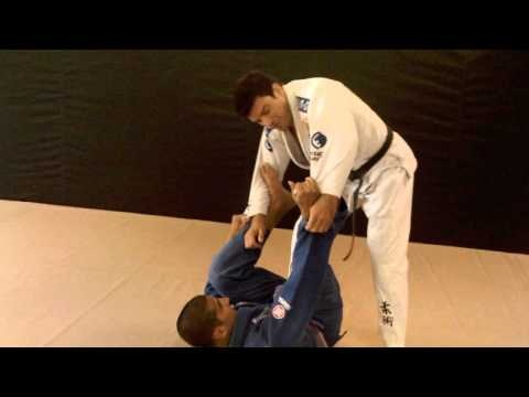 Jiu Jitsu Counter Attack Arm Bar vs. Spider Guard | Renzo Gracie Weston FL