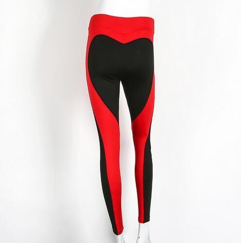 Heart Yoga Pants Fitness, Sexy Hips Push Up Leggings, Running Pants Women, Fitness Slim Gym Leggings