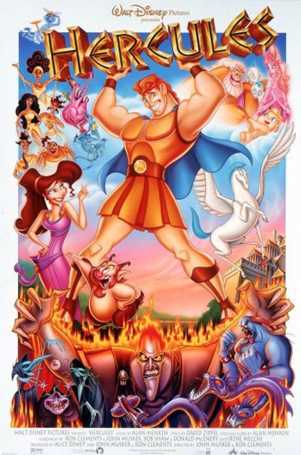 Old disney movie Hercules, I remembered how It Has Taught Me To Never Give Up. Never Gove Up On Your Dreams, Or Whatever It Is You're Looking For. Although It's A Film People Tend To Forget, It's A Real Picker Upper.