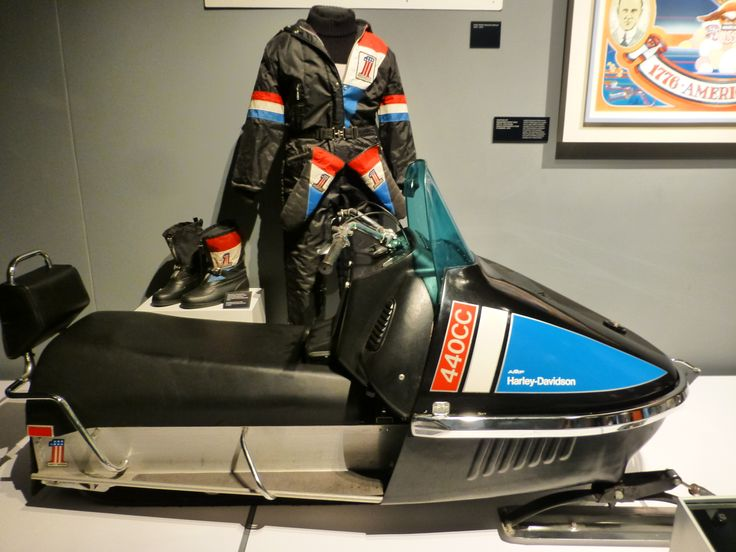 Did you know... Harley Davindsos has manufactured also snowmobiles!