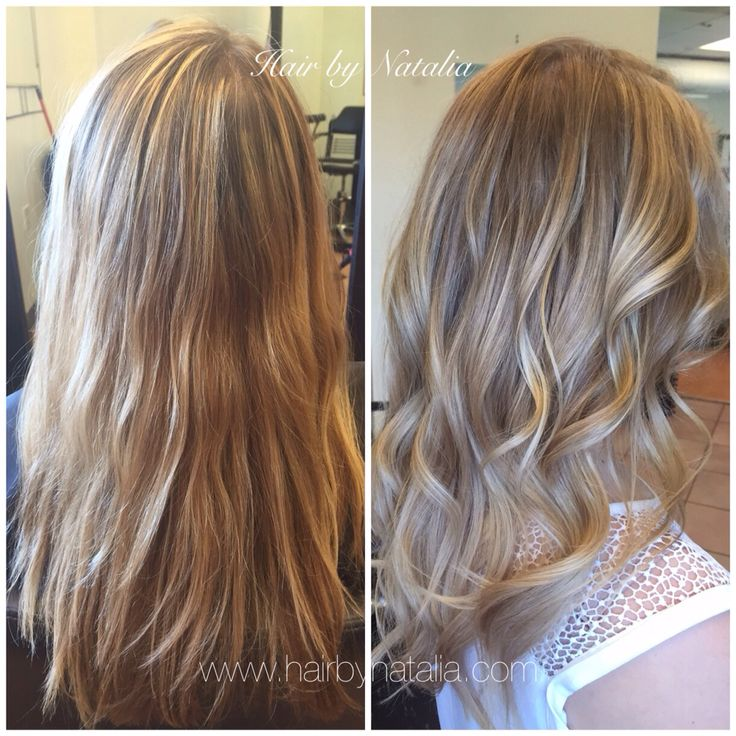 Balayage With Hair Color
