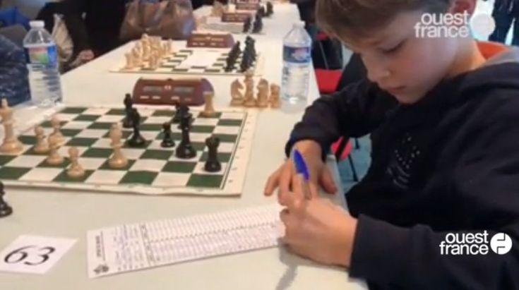 À voir en replay vidéo : le reportage de @OuestFrance sur l'Open international d'#échecs du #Mans