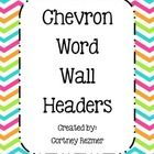 Here are some bright word wall headers to match my school supply labels and pencil bucket labels!!!!   Enjoy:)...