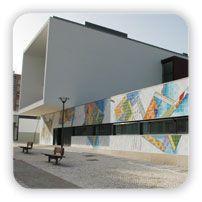 Querubim Lapa | Almada | Biblioteca Municipal / Municipal Library José Saramago | 2010 #Azulejo #QuerubimLapa