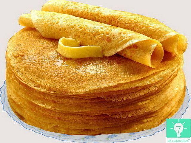 Получатся даже у новичков!  Рецепт: Ингредиенты: кипяток — 1,5 стакана; молоко — 1,5 стакана; яйца — 2 штуки; мука — 1,5 стакана (тесто должно быть реже, чем на оладьи); сливочное масло — 1,5 столо…