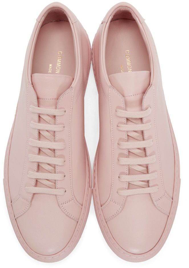 Common Projects - Pink Original Achilles Sneakers