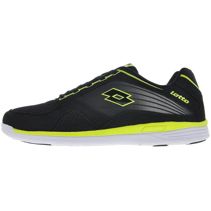 lotto R3706 CHASE Siyah Erkek Günlük Spor Ayakkabısı