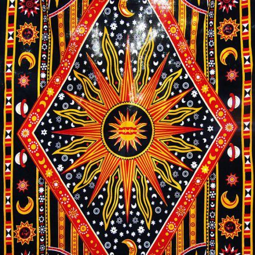 #Beach #Mandala #Celestial #Sun #Moon #Tapestry #Indian #Bedding #Wall #Tapestries #Handmade #ArtDecoStyle