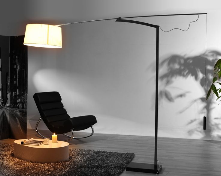 lampadaire design blanc klara