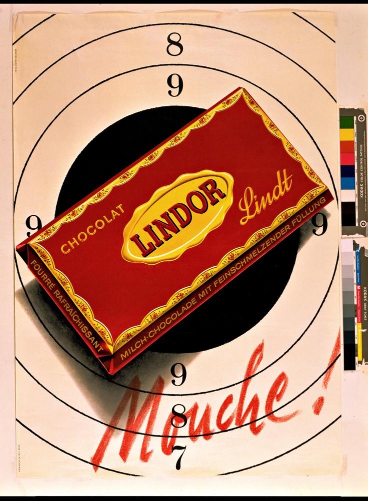 Vintage Lindor poster                                                                                                                                                                                 More