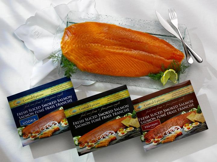 3 Varieties, for everyone @ my brunch: Smoke Salmon