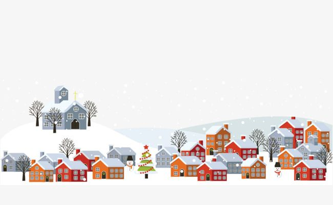Winter snow, Building, Snow, Vector PNG and Vector