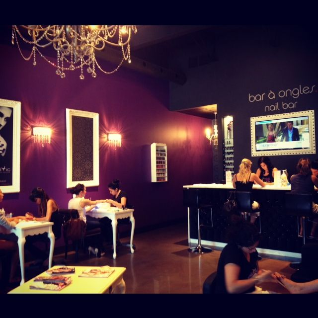 Nail Salon Images Gallery: 121 Best Nail Salon Decor' Images On Pinterest