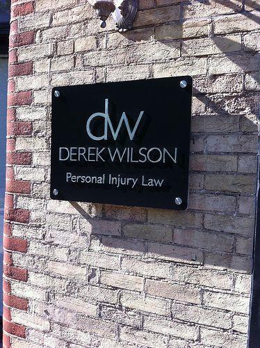 Derek Wilson Law Office - Outdoor sign