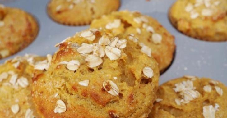 Muffin à l'avoine...fait de compote de pomme ! WOW, vous allez l'adorer