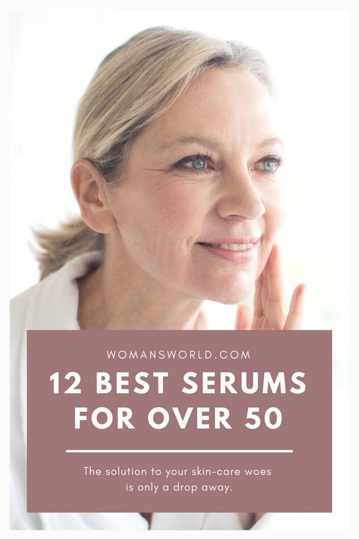 12 Best Serums for Women Over 50 With Mature Skin - Woman's World