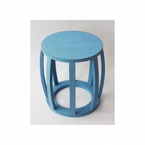 Drum Table Blue