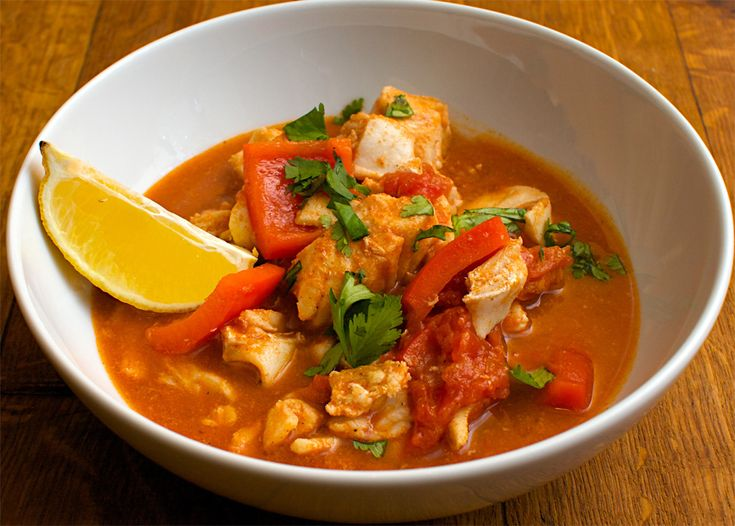 Fast and Easy Monk Fish Stew