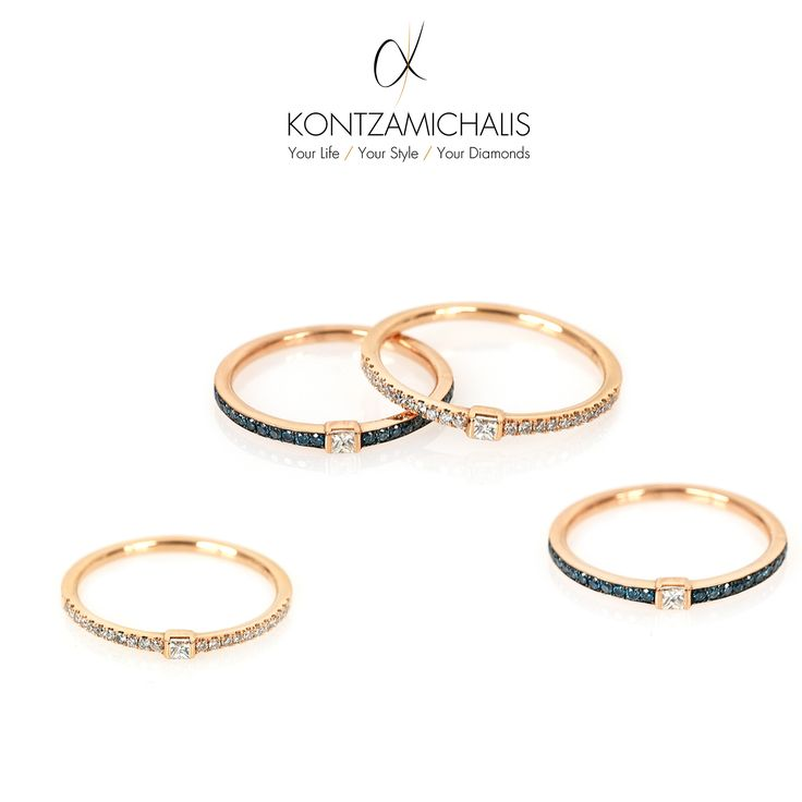 What's your favourite everyday jewellery? These chic and simple rings are absolutely a popular choice! #KontzamichalisJewellery