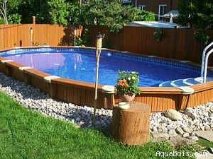 52 Best Images About Inground Above Ground Pools On