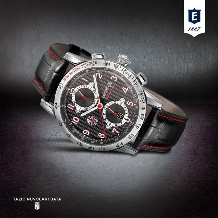 Tazio Nuvolari Data by Eberhard & Co.  http://www.eberhard-co-watches.ch/en/product/tazio-nuvolari-data-31066-1