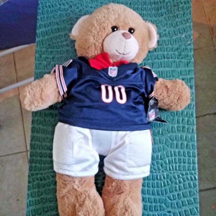 Build A Bear NFL Football Jersey Pants WITH TAG #BuildABear #SportsfootballAllOccasion