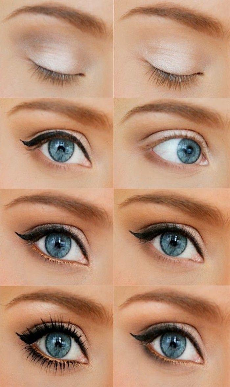 Bien-aimé Les 25 meilleures idées de la catégorie Maquillage yeux amande  IX58