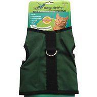 Kitty Holster Cat Harness, Hunter Green, Small/Medium
