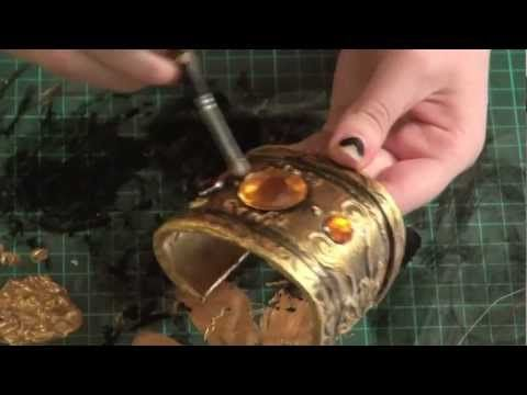 Cosplay DIY Gems Jewelry Bracelet Tutorial Craft Foam. DIY. Make props, armor parts, bracelets, and other items for cosplay using craft foam and dimensional paint. All basic techniques covered to make all sorts of cosplay items.