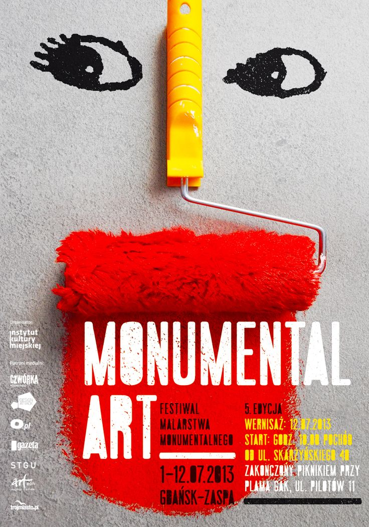 V Festiwal Malarstwa Monumentalnego / 5th Monumental Art Festival, Projekt/Design: Anita Wasik