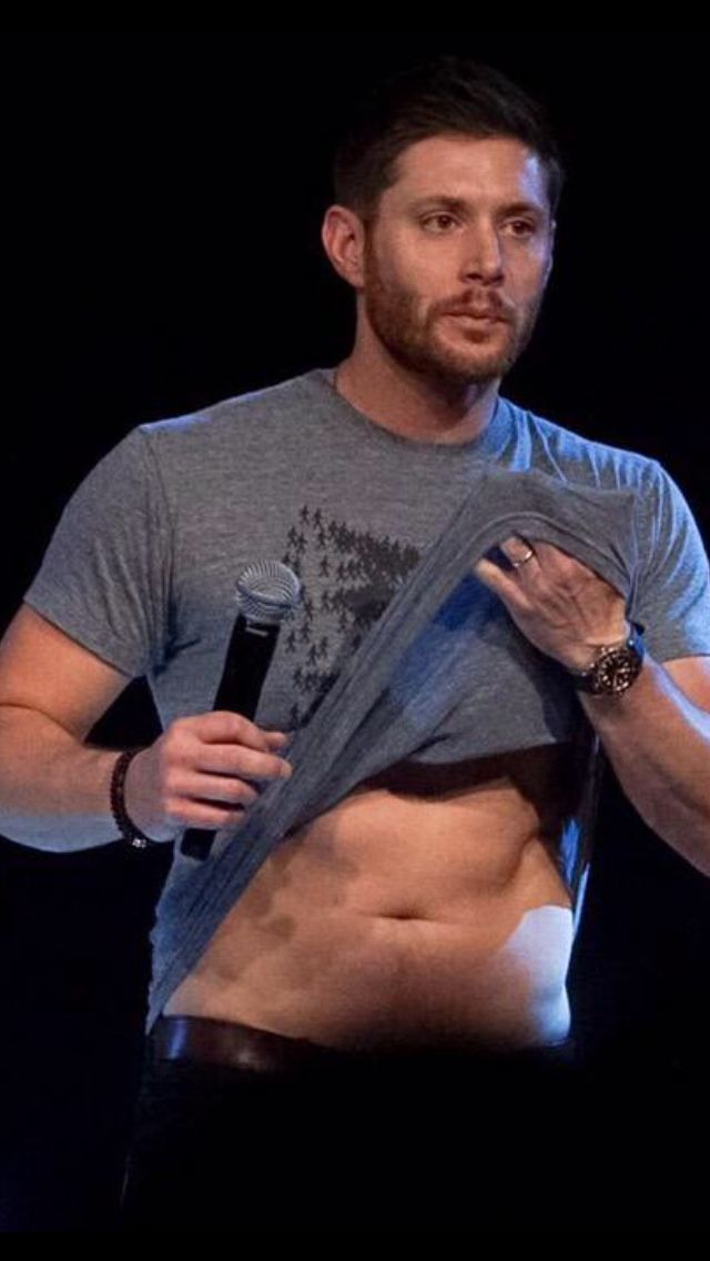 Jensen, yum - jibcon15 | Saving people, hunting things ...