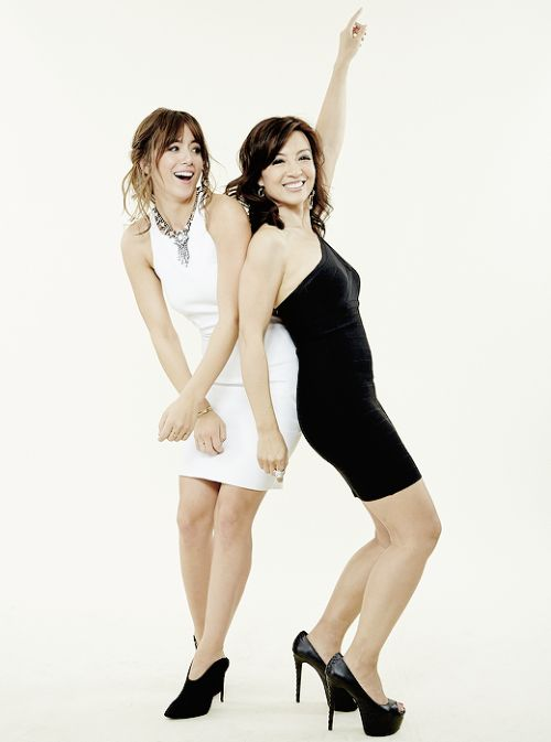Chloe Bennet and Ming-Na Wen -- Agents of Shield