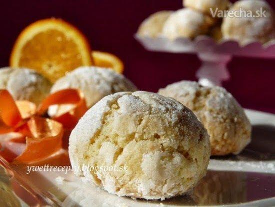 Kokosovo pomarančové crinkles (fotorecept) - Recept