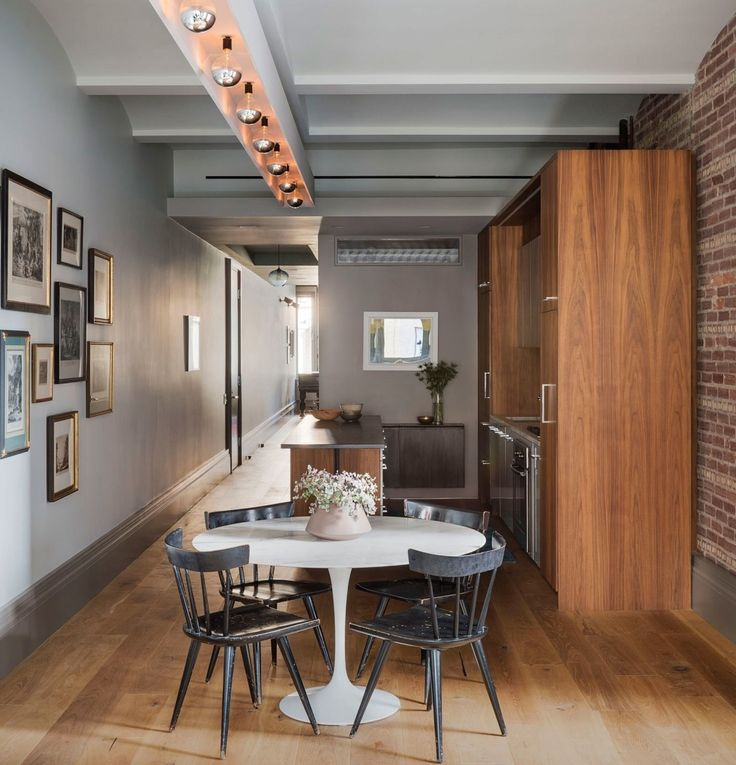 Manhattan-based design firm Incorporated NY displays their interiors prowess through a mere 1100-square-feet with no shortage of surprises | archdigest.com