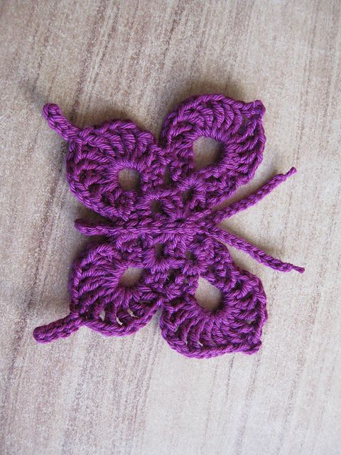 Ravelry: Crochet Swallow-Tailed Butterflies free pattern by Megan Mills