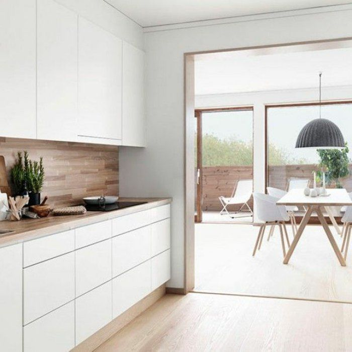comment aménager une cuisine laquée blanche