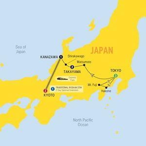 Splendours of Japan - 2016 - Australia - Trafalgar Tours